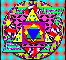 Shapes & Patterns Avatar Challenge by Ann Morgan
