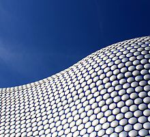 Blue Selfridges by Lynn Ede