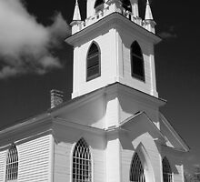 Christ Church, Upper Canada Village, Ontario, Canada by Mike Oxley