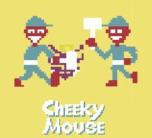 Classic 80's arcade games: Cheeky Mouse by evidentphotos