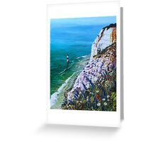 Wild Flowers at Beachy Head Greeting Card