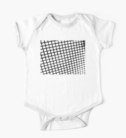Through the Window Screen  One Piece - Short Sleeve