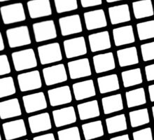 Through the Window Screen  Sticker