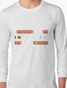Classic 80's arcade games: Frogger Long Sleeve T-Shirt