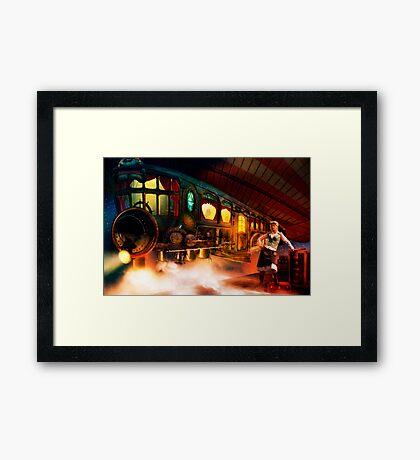 Nightflight Framed Print