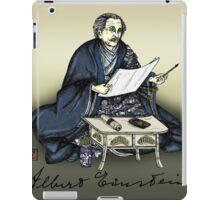 Samurai Albert Einstein iPad Case/Skin