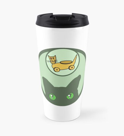 WHAT A CAT HAVE TO SAY ABOUT TOYS Travel Mug