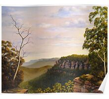 Escarpments Edge Poster