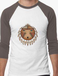 Katsina Sun Face Men's Baseball ¾ T-Shirt