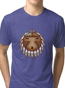 Katsina Sun Face Tri-blend T-Shirt