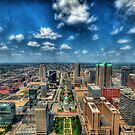 St. Louis From Above by Joel Hall