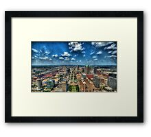 St. Louis From Above Framed Print