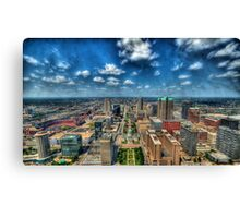 St. Louis From Above Canvas Print