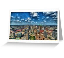 St. Louis From Above Greeting Card