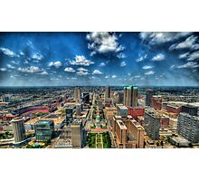 St. Louis From Above Photographic Print