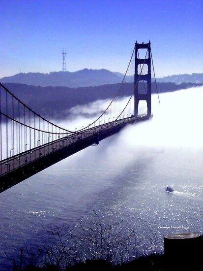 Its The Golden Gate Bridge! by Charmiene Maxwell-Batten