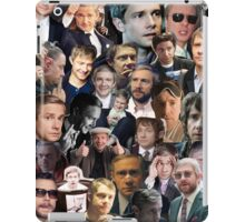 Martin Freeman Collage iPad Case/Skin