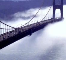 Its The Golden Gate Bridge! Sticker