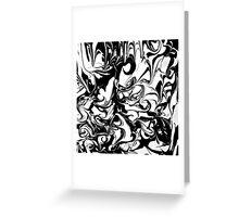 Monochrome Greeting Card