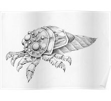 Fantasy bug Poster