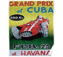 CUBAN CIGAR LABELS Poster