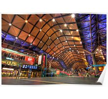 Southern Cross Station - HDR Poster