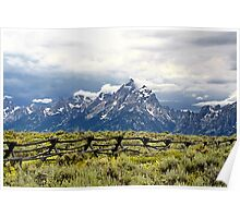 Grand Teton Range Poster