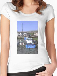 Arctic Tern Carnlough Women's Fitted Scoop T-Shirt