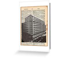 Vintage City Talk Greeting Card