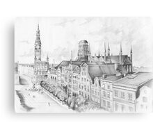 Gdansk panorama Canvas Print