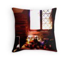Godiah Spray Mansion Still Life Throw Pillow