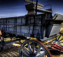 Freight Wagon by Terence Russell