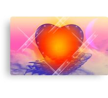 love shine a light- Abstract Art + products Design  Canvas Print