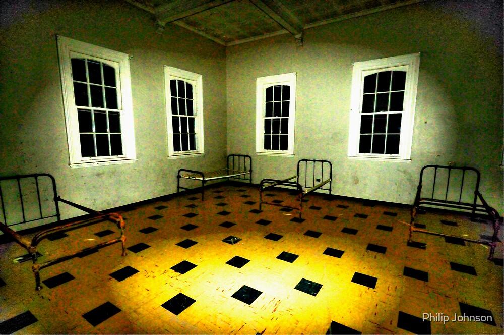 Have A Shocking Halloween - Shock Therapy Room - Beechworth Lunatic Asylum by Philip Johnson
