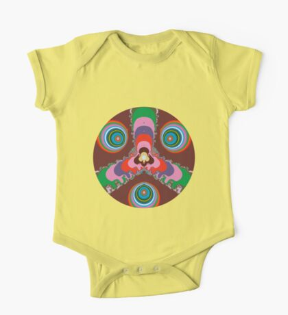 Psychedelic Eyes One Piece - Short Sleeve
