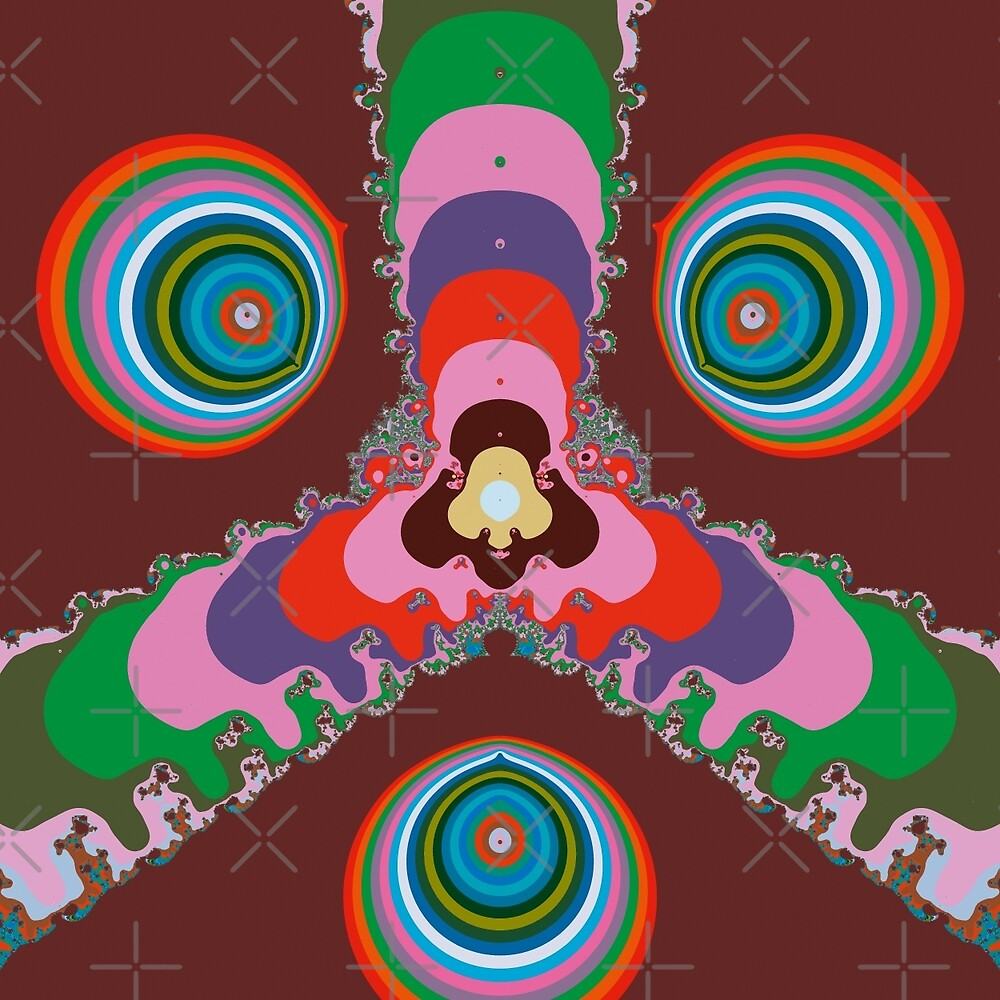 Psychedelic Eyes by Vac1