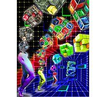 Rubik's Revenge Photographic Print