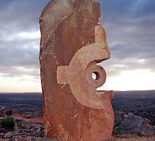 Living Desert Sculpture, Broken Hill, NSW, Australia by Adrian Paul
