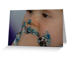Baby's first Birthday . Greeting Card
