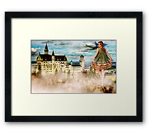 Stepping in a Fairy Tale Framed Print