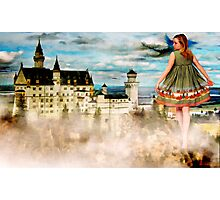 Stepping in a Fairy Tale Photographic Print