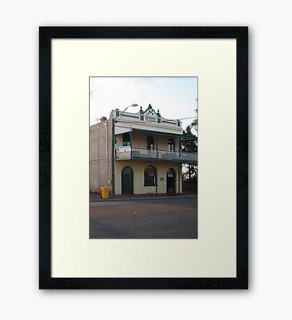 Menzies Hotel Framed Print