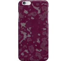 Purple Abstract Grunge Print  iPhone Case/Skin