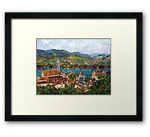 Durnstein, Austrian Landscape Framed Print