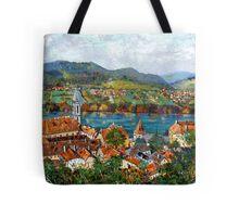 Durnstein, Austrian Landscape Tote Bag