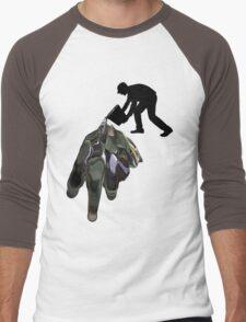 Damn Spilt It Men's Baseball ¾ T-Shirt