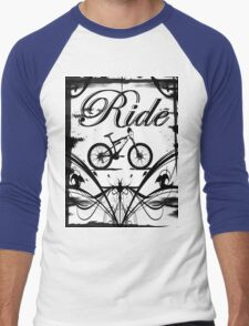 Ride2 Men's Baseball ¾ T-Shirt