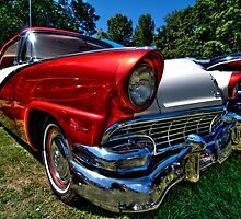 1956 Ford by pdsfotoart