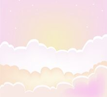 Morning clouds background. sunset sky with clouds. by Sandytov