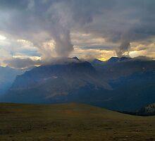 Afternoon Storm on Trail Ridge Road by Bob Spath